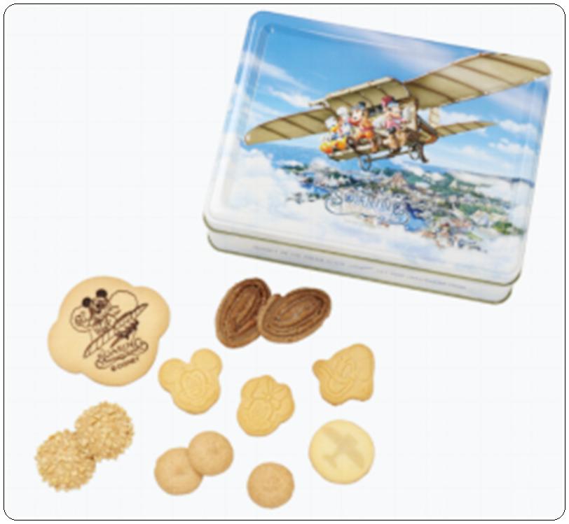 ディズニーシーソアリン おすすめグッズ1 クッキー缶 画像
