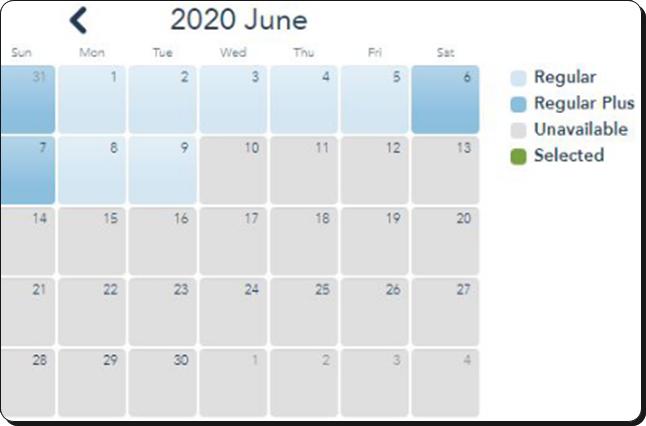 上海ディズニーランド2020年6月のチケット販売状況